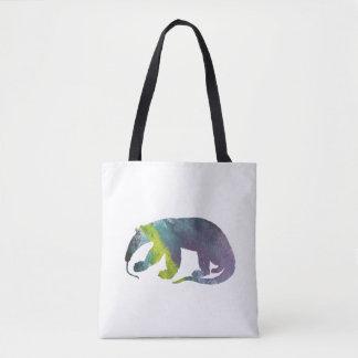 Anteater art tote bag