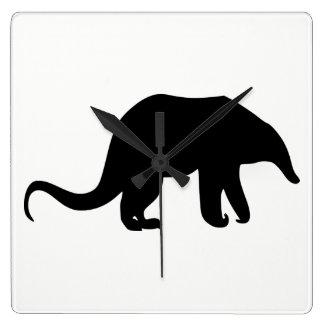 Anteater Silhouette Wallclocks