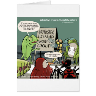Anteaters Anonymous 12-Step Funny Card