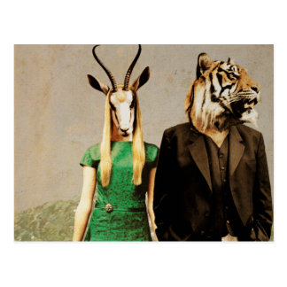 Antelope and the Tiger Postcard