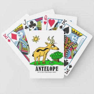 Antelope by Lorenzo Traverso Bicycle Playing Cards
