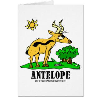 Antelope by Lorenzo Traverso Card