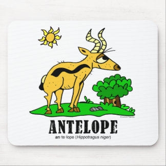 Antelope by Lorenzo Traverso Mouse Pad