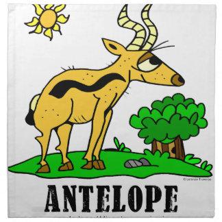 Antelope by Lorenzo Traverso Napkin