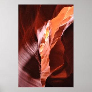 Antelope Canyon, AZ Poster