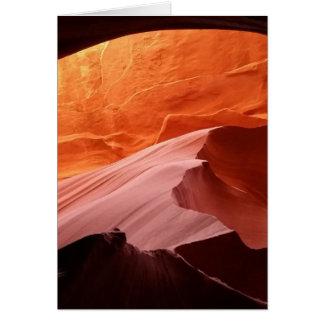 Antelope Canyon Card