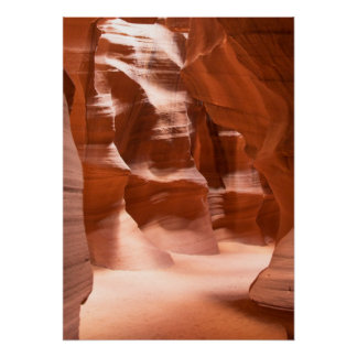 Antelope Canyon, Naturally Lit Poster