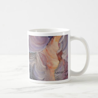 antelope canyon painting in oil coffee mug