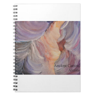 antelope canyon painting in oil notebooks
