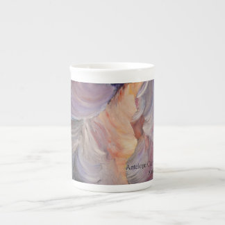 antelope canyon painting in oil tea cup