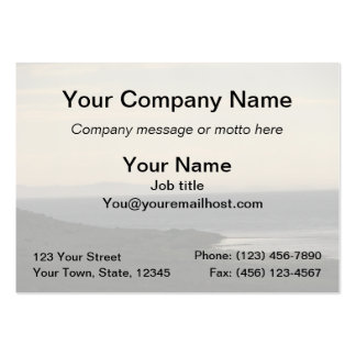 Antelope Island Evening Business Card Template