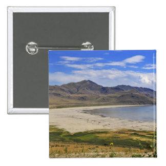 Antelope Island State Park, Great Salt Lake, 15 Cm Square Badge