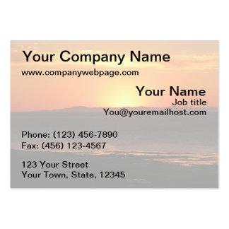 Antelope Island Sunset Business Card Templates