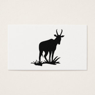 Antelope Silhouette Business Card