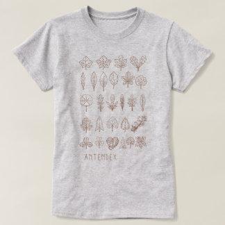 Antendex [Altered November] T-shirt - Brown