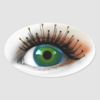 Antenna Eye Oval Sticker