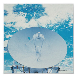 Antenna in Space Poster