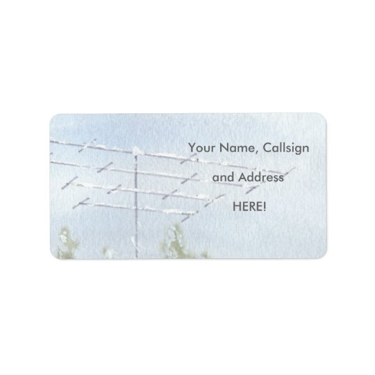 Antenna with Snow Address Labels