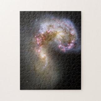 Antennae Galaxies Puzzles