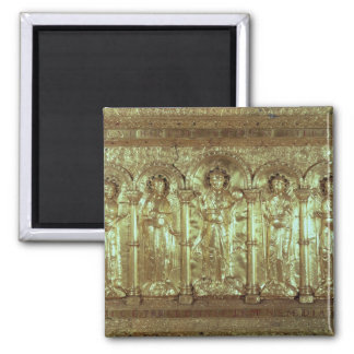 Antependium depicting Christ with the donors Fridge Magnet