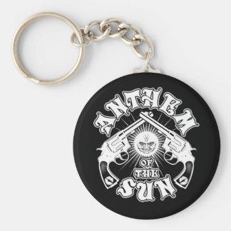 Anthem of the Sun Guns Logo Basic Round Button Key Ring