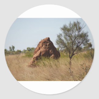 Anthills in Northern Territory Round Sticker