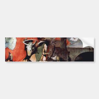Anthony Altar -Temptation of St. Anthony, detail 7 Bumper Sticker