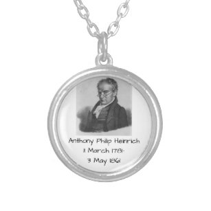 Anthony Philip Heinrich Silver Plated Necklace