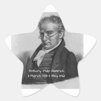 Anthony Philip Heinrich Star Sticker
