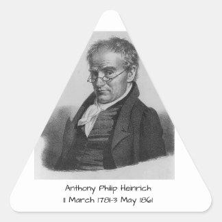 Anthony Philip Heinrich Triangle Sticker