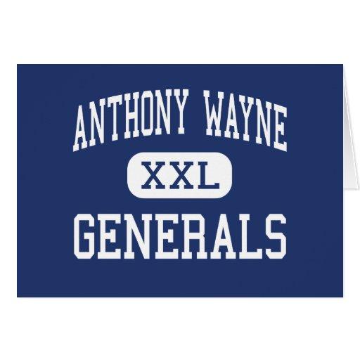 Anthony Wayne - Generals - Junior - Whitehouse Greeting Card