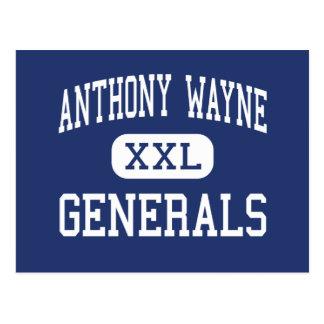 Anthony Wayne - Generals - Junior - Whitehouse Postcard