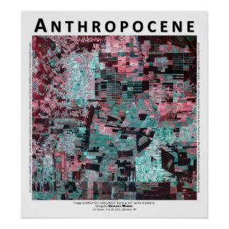 Anthropocene III - Bolivian Rain Forest Poster