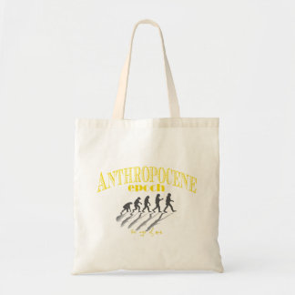 Anthropocene - the age of man tote bag