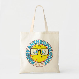 Anthropologist Nerdy Budget Tote Bag