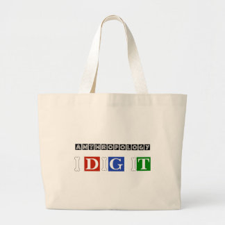 Anthropology I Dig It Large Tote Bag