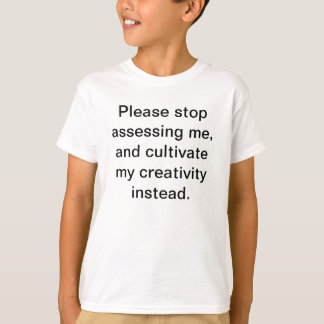 Anti-assessment t-shirt
