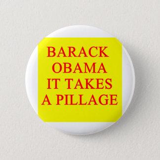 anti barack obama joke 6 cm round badge