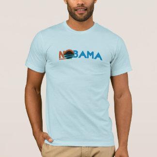 "Anti Barack Obama ""NObama"" Black T-Shirt"