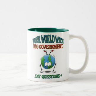 Anti-Big Government mugs: Your World