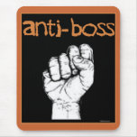 Anti Boss slave wages union workers rights labour Mouse Mats
