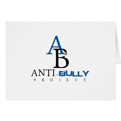 Anti-Bully Project items to promote Anti-Bully Card