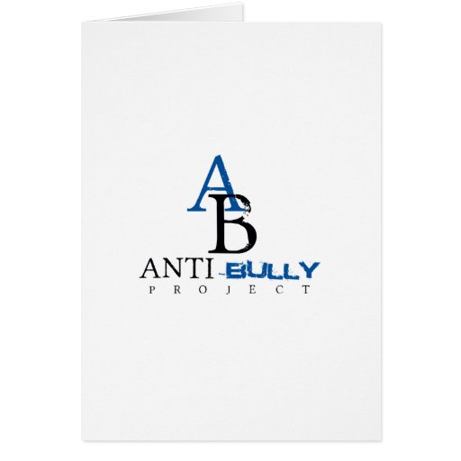 Anti-Bully Project items to promote Anti-Bully Greeting Cards