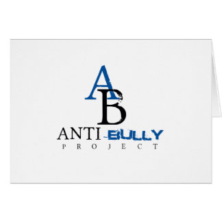 Anti-Bully Project items to promote Anti-Bully Greeting Card
