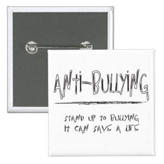 Anti-Bullying 15 Cm Square Badge