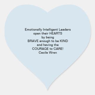 Anti-Bullying Strategy Heart Sticker