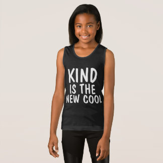 Anti-bullying T-shirts, KIND IS THE NEW COOL Singlet