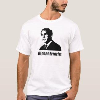 Anti bush - global errorist T-Shirt
