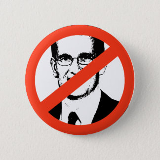 ANTI-CANTOR: Anti-Eric Cantor 6 Cm Round Badge
