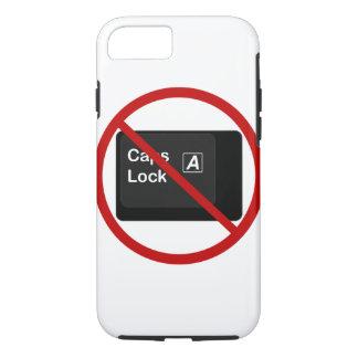 Anti Caps Lock Phone Case